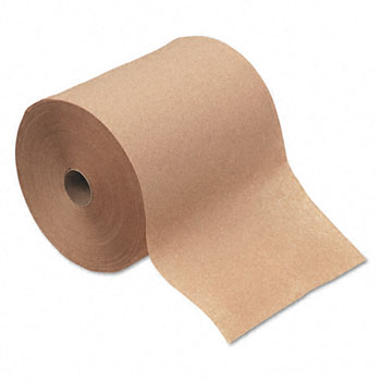4142 HARD ROLL TOWELS BROWN
