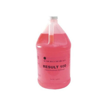 620205 5-GAL  Result 100 Dish Soap Univ.High & Low 5GAL/PL
