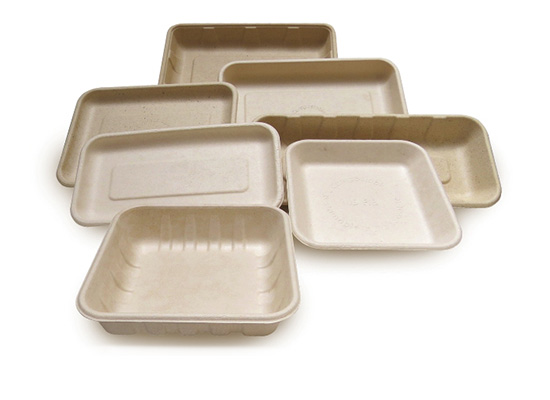 COMP14D 14D Compostable Tray 6.1x5.7x1.2 500/case  45/skid