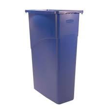 3540-75 Blue Slim Jim 23gal Contianer 1/Each